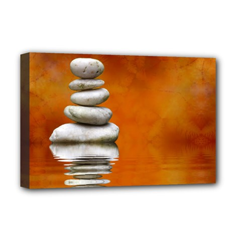 Balance Deluxe Canvas 18  X 12  (framed)