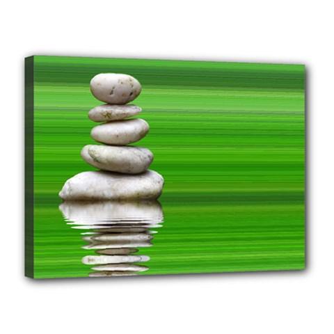 Balance Canvas 16  X 12  (framed)