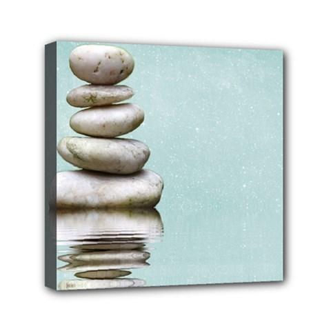 Balance Mini Canvas 6  x 6  (Framed)