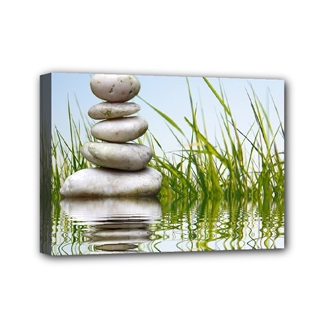 Balance Mini Canvas 7  X 5  (framed)