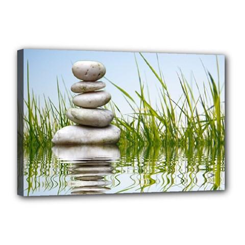 Balance Canvas 18  X 12  (framed)