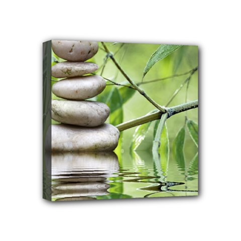 Balance Mini Canvas 4  x 4  (Framed)