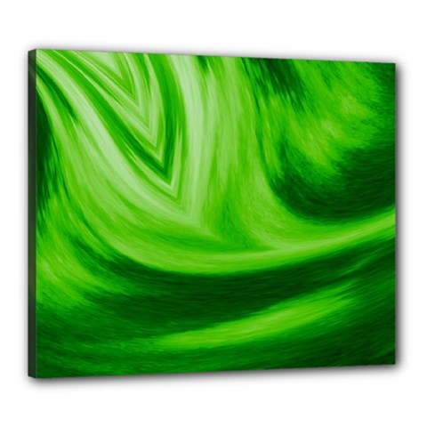 Wave Canvas 24  x 20  (Framed)