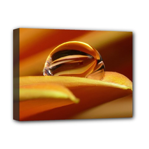 Waterdrop Deluxe Canvas 16  x 12  (Framed)