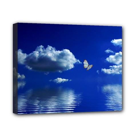 Sky Canvas 10  x 8  (Framed)