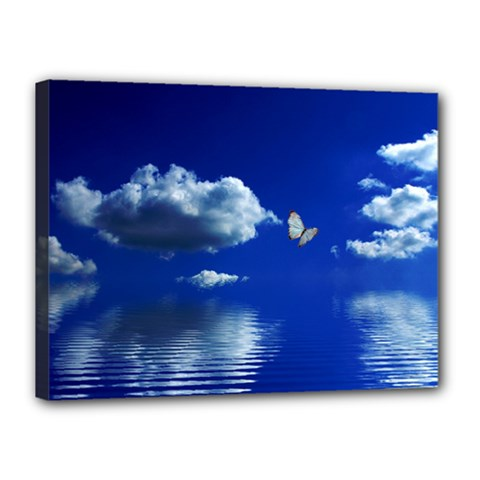 Sky Canvas 16  x 12  (Framed)