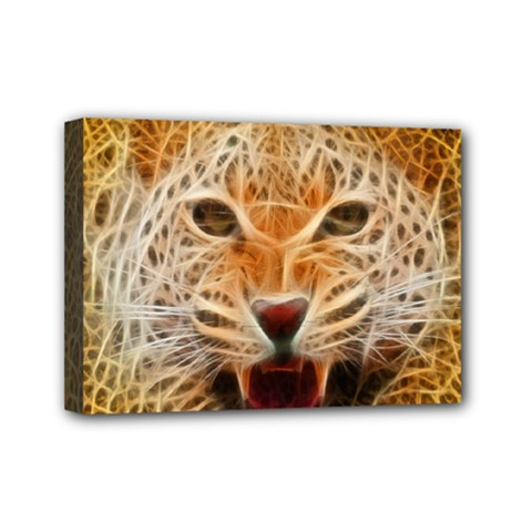 Jaguar Electricfied Mini Canvas 7  X 5  (framed)