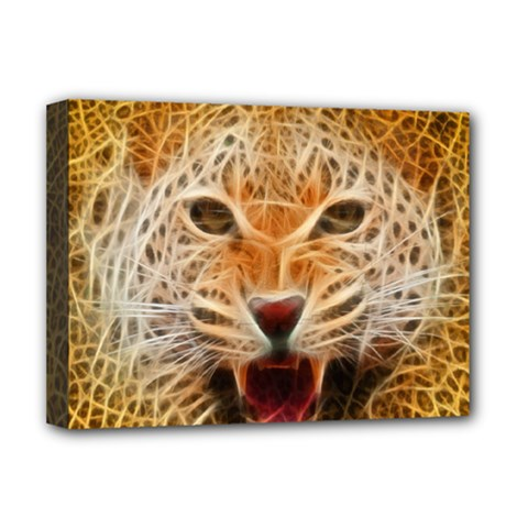 Jaguar Electricfied Deluxe Canvas 16  x 12  (Framed)