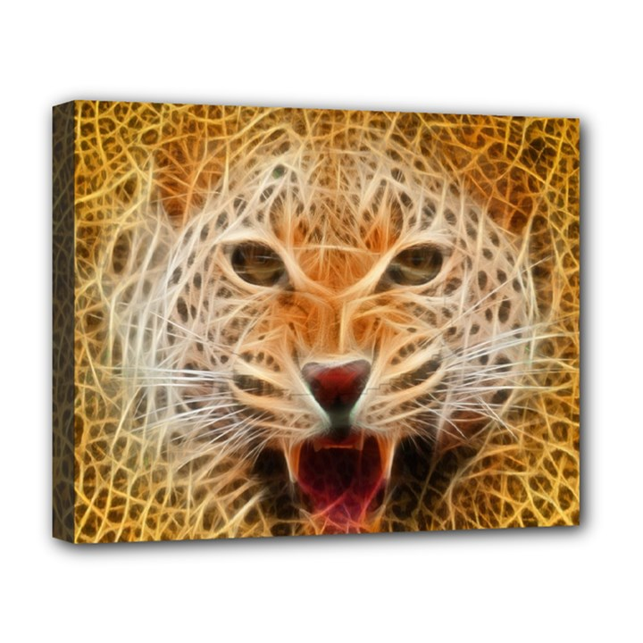 Jaguar Electricfied Deluxe Canvas 20  x 16  (Framed)