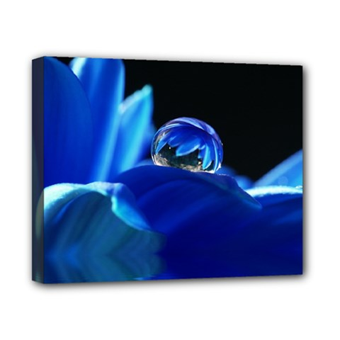 Waterdrop Canvas 10  X 8  (framed)