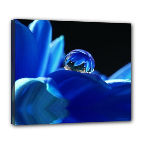 Waterdrop Deluxe Canvas 24  x 20  (Framed)