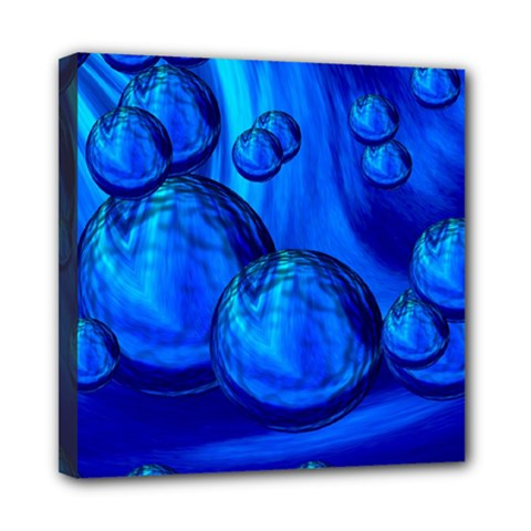 Magic Balls Mini Canvas 8  x 8  (Framed)