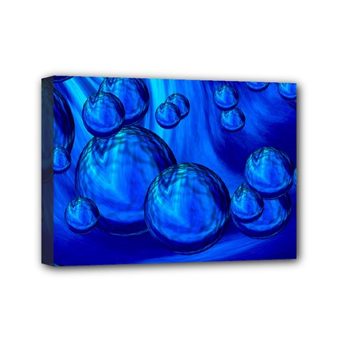 Magic Balls Mini Canvas 7  x 5  (Framed)