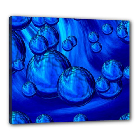 Magic Balls Canvas 24  x 20  (Framed)