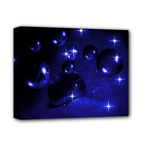 Blue Dreams Deluxe Canvas 14  X 11  (framed)