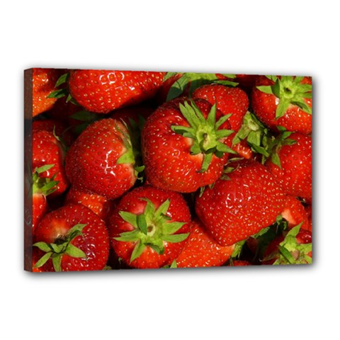 Strawberry  Canvas 18  X 12  (framed)