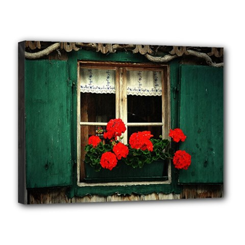 Window Canvas 16  X 12  (framed)