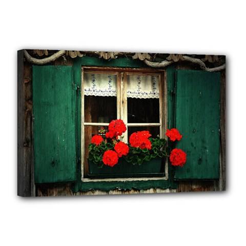Window Canvas 18  x 12  (Framed)