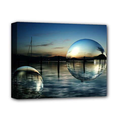 Magic Balls Deluxe Canvas 14  x 11  (Framed)