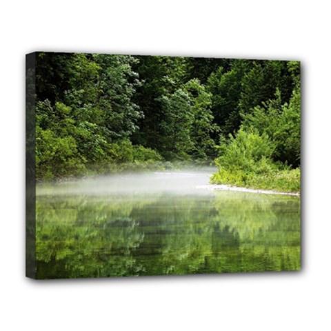 Foog Canvas 14  X 11  (framed)