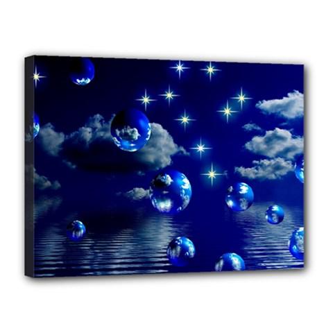 Sky Canvas 16  x 12  (Framed)