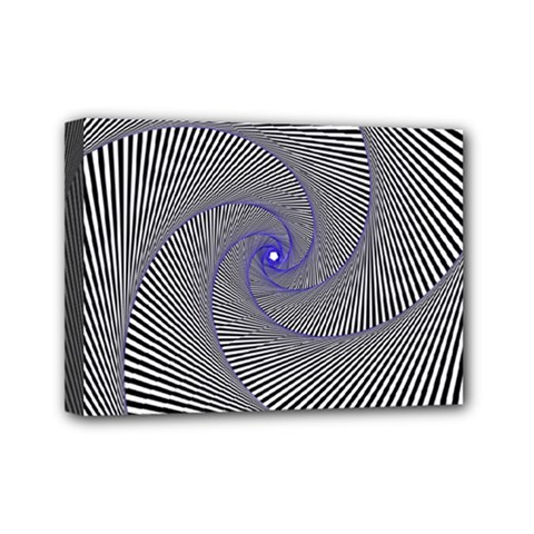 Hypnotisiert Mini Canvas 7  X 5  (framed)