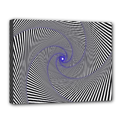 Hypnotisiert Canvas 14  x 11  (Framed)
