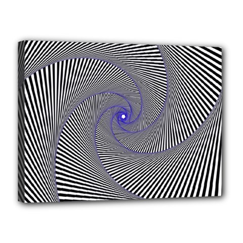 Hypnotisiert Canvas 16  X 12  (framed)
