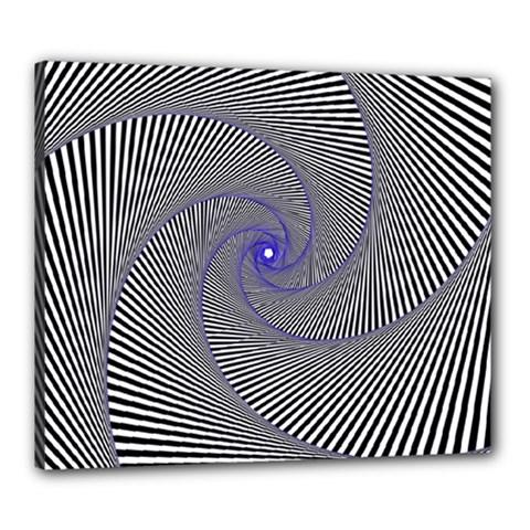 Hypnotisiert Canvas 24  x 20  (Framed)