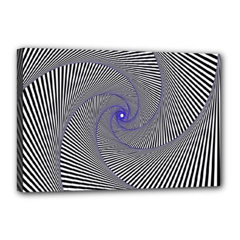 Hypnotisiert Canvas 18  x 12  (Framed)