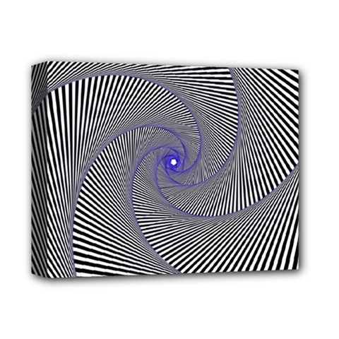 Hypnotisiert Deluxe Canvas 14  X 11  (framed)