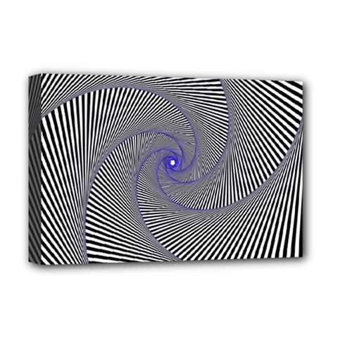 Hypnotisiert Deluxe Canvas 18  x 12  (Framed)