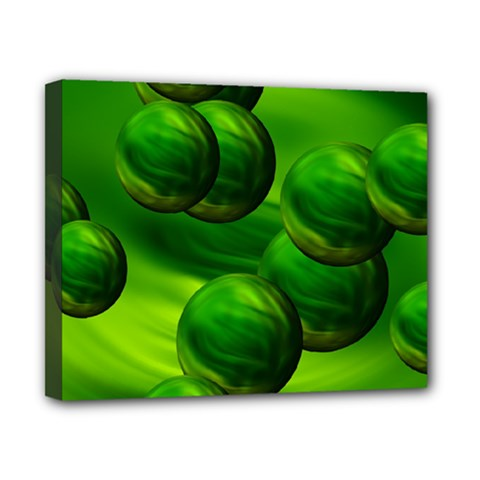 Magic Balls Canvas 10  x 8  (Framed)