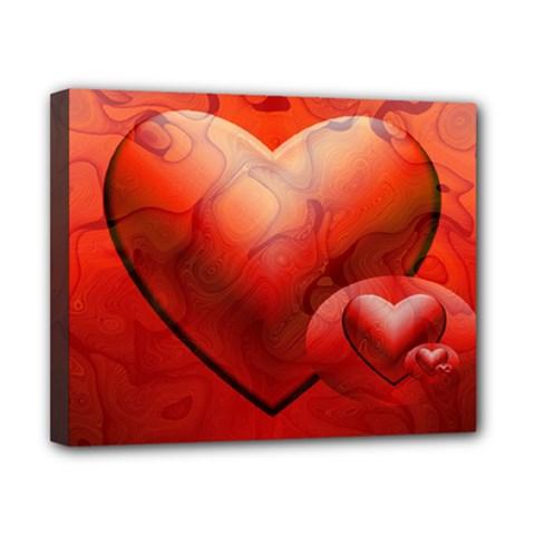 Love Canvas 10  x 8  (Framed)
