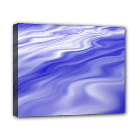 Wave Canvas 10  X 8  (framed)