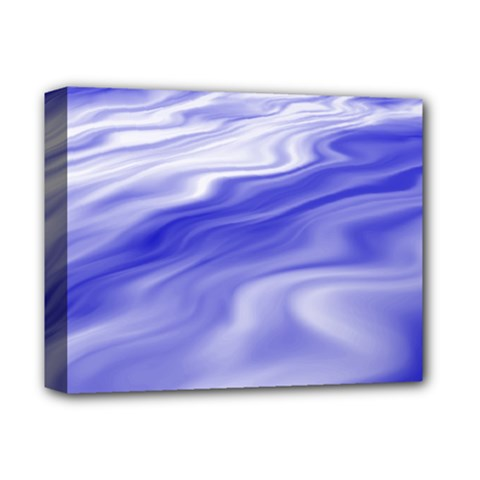 Wave Deluxe Canvas 14  X 11  (framed)