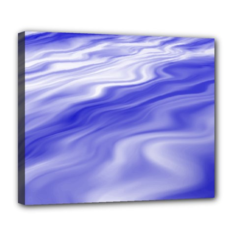 Wave Deluxe Canvas 24  x 20  (Framed)