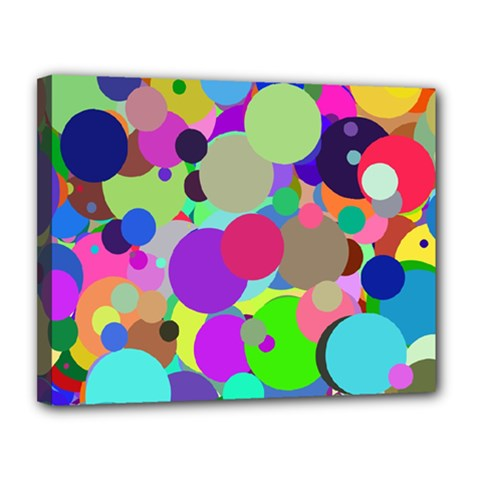Balls Canvas 14  x 11  (Framed)
