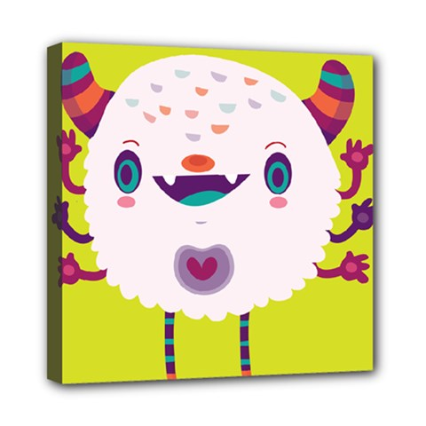 Moshi Mini Canvas 8  X 8  (framed)