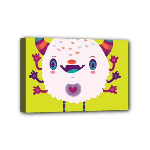 Moshi Mini Canvas 6  x 4  (Framed)
