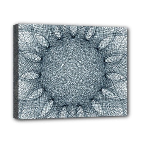 Mandala Canvas 10  x 8  (Framed)