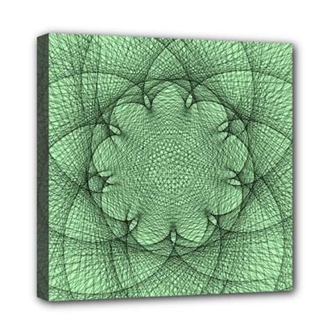 Spirograph Mini Canvas 8  x 8  (Framed)
