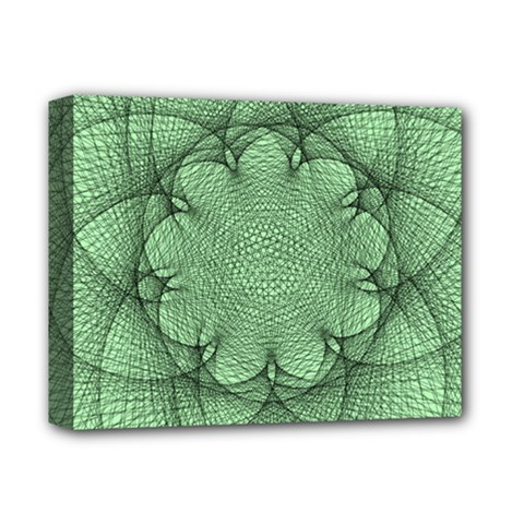 Spirograph Deluxe Canvas 14  X 11  (framed)
