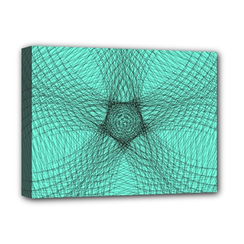 Spirograph Deluxe Canvas 16  X 12  (framed)