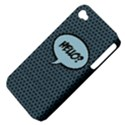 Hello Apple iPhone 4/4S Hardshell Case (PC+Silicone) View4