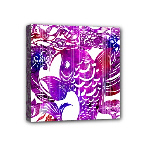 Form of Auspiciousness Mini Canvas 4  x 4  (Framed)