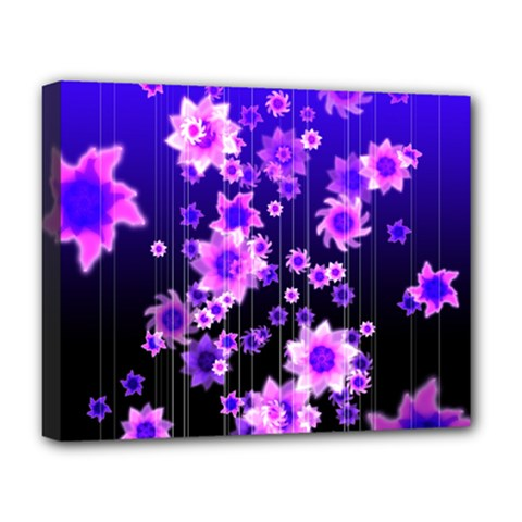 Midnight Forest Deluxe Canvas 20  x 16  (Stretched)