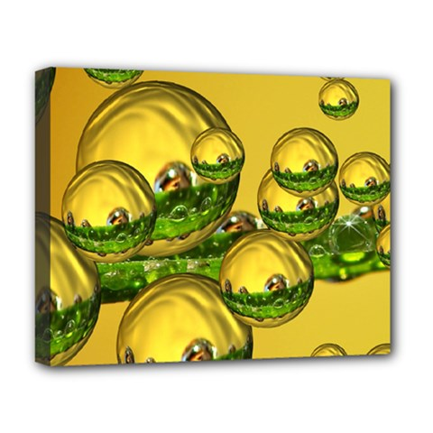 Balls Deluxe Canvas 20  x 16  (Framed)