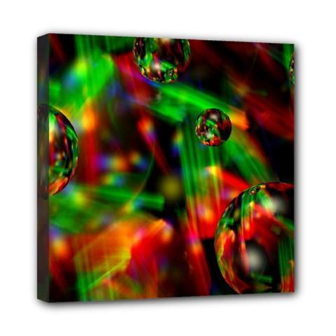 Fantasy Welt Mini Canvas 8  x 8  (Framed)