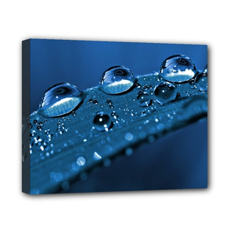 Drops Canvas 10  x 8  (Framed)